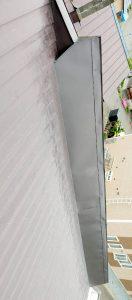 2021年5月施工 旭川市K様邸 造作雪庇ストッパー工事および煙突部分補修-8