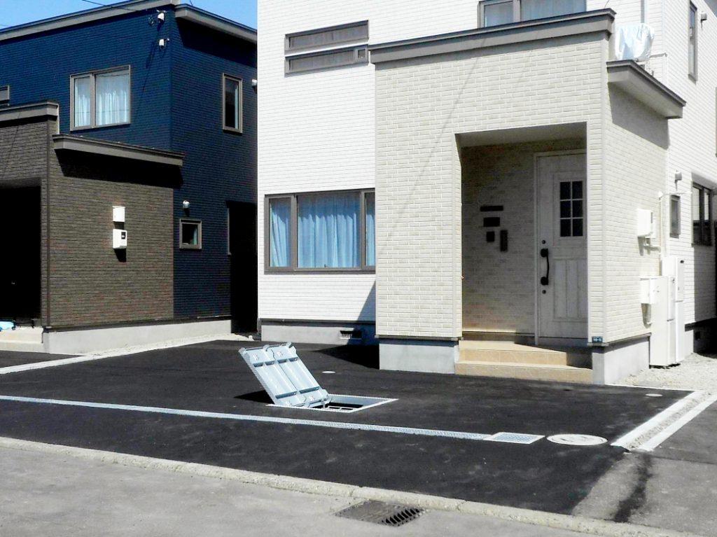 2021年4月施工 札幌市北区T様邸 プロパンガス式快冬くんⅡおよびロードヒーティング工事-6.施工後