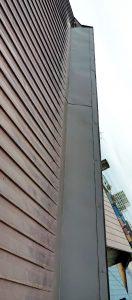 2021年5月施工 旭川市K様邸 造作雪庇ストッパー工事および煙突部分補修-9