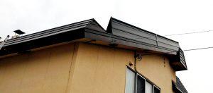 2021年5月施工 旭川市K様邸 造作雪庇ストッパー工事および煙突部分補修-7