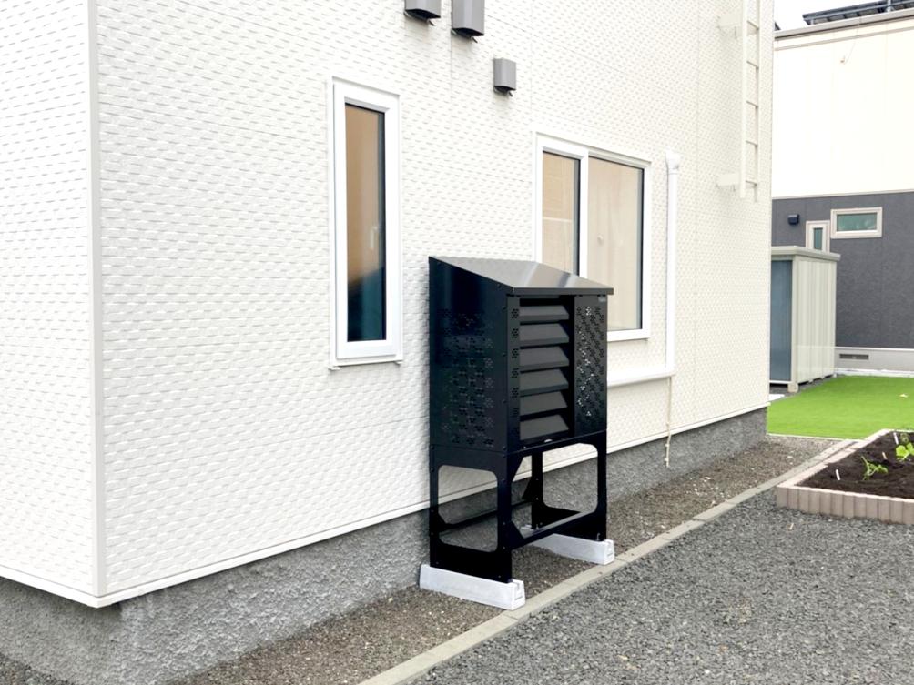 2021年5月設置 江別市 K様邸(ブラック)-②
