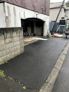 2021年7月 札幌市南区 N様邸 灯油式温水ロードヒーティング改修工事(階段・路盤・歩道)-施工前1