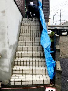 2021年7月 札幌市南区 N様邸 灯油式温水ロードヒーティング改修工事(階段・路盤・歩道)-施工前2