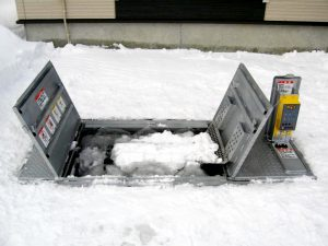 融雪王 施工例-1