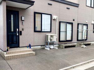 2021年6月施工 函館市 M様邸 埋設型融雪機 融雪王HS-2200設置工事-設置前
