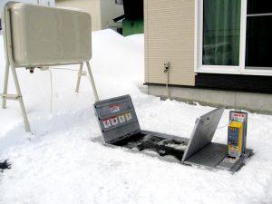 融雪王 施工例-2