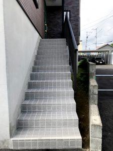 2021年7月 札幌市南区 N様邸 灯油式温水ロードヒーティング改修工事(階段・路盤・歩道)-施工後2