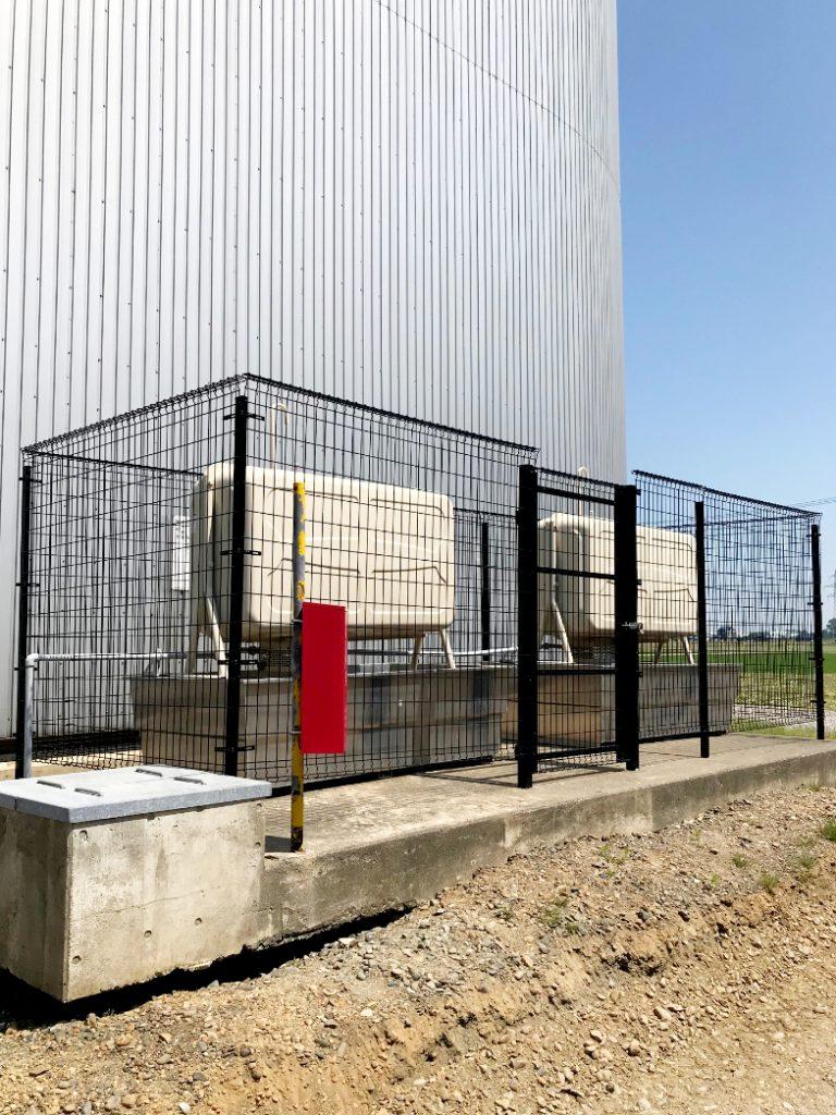 2021年6月施工 岩見沢市 N協様 防油フェンス改修工事-施工後2