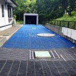 2021年7月施工 室蘭市 O様邸 電気ロードヒーティング工事-施工中