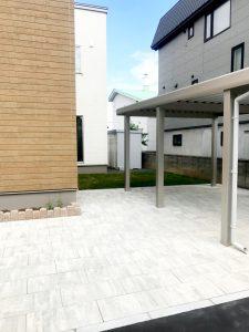 2021年6月施工 札幌市西区 K様邸 外構工事-施工後3
