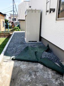 2021年6月施工 札幌市西区 K様邸 外構工事-施工前4