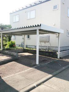 2021年7月 札幌市厚別区 T様邸 外構工事-施工前