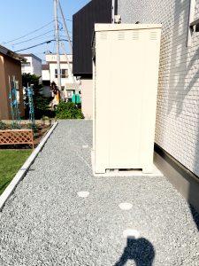 2021年6月施工 札幌市西区 K様邸 外構工事-施工後4