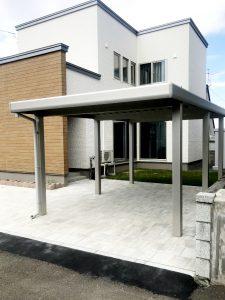 2021年6月施工 札幌市西区 K様邸 外構工事-施工後1