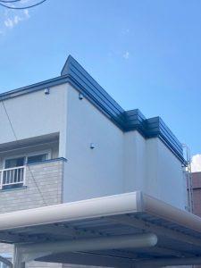 2021年9月 札幌市北区 I様邸 造作セッピストッパー設置工事および屋根塗装工事-施工後 2