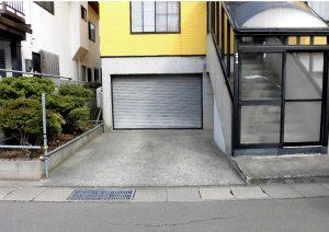 2021年9月施工 青森市 K様邸 埋設型融雪槽 快冬くんⅡ設置工事(灯油式)-設置前