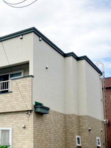 2021年9月 札幌市北区 I様邸 造作セッピストッパー設置工事および屋根塗装工事-施工前 2