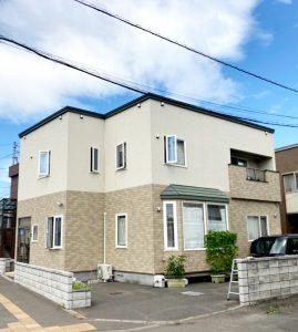 2021年9月 札幌市北区 I様邸 造作セッピストッパー設置工事および屋根塗装工事-施工前1