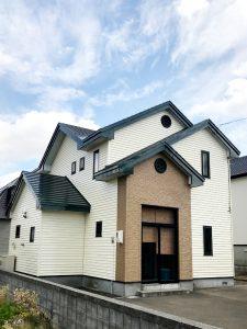 2021年9月施工 当別町 T様邸 屋根鈑金及び外壁塗装工事-施工後