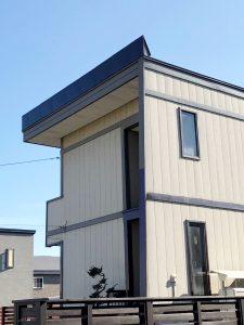 2021年9月 岩見沢市 W様邸 雪庇防止工事(他社製品からの取替)-施工後2