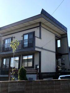 2021年9月 岩見沢市 W様邸 雪庇防止工事(他社製品からの取替)-施工後1
